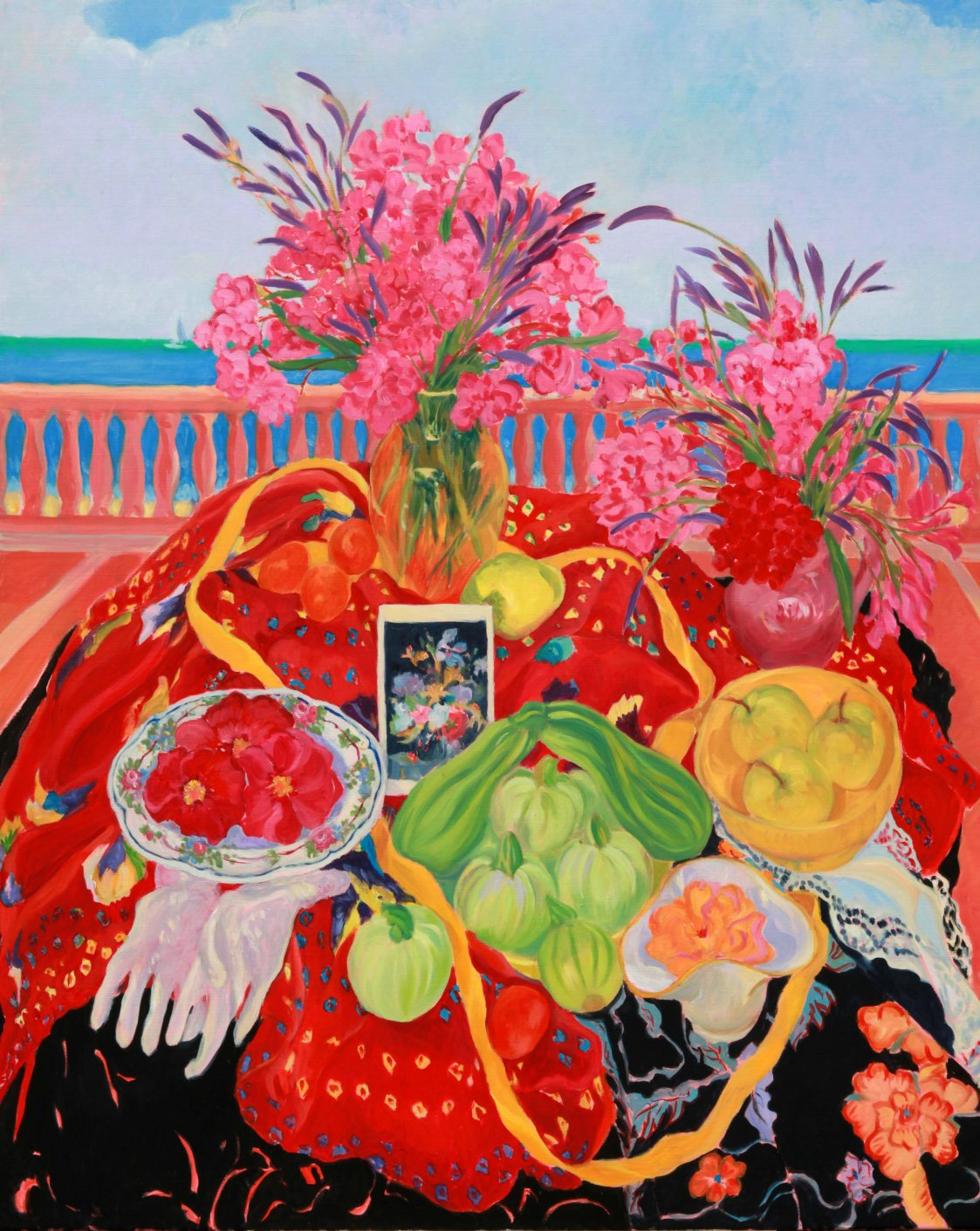 Zucchini and Sea - Sandra Caplan